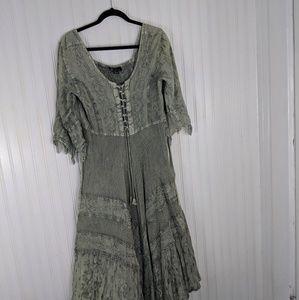 Dresses & Skirts - Flower Brand Boho Hippie Dress